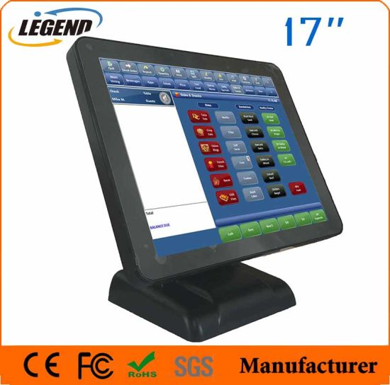 "17"" Retail Capacitive Touchscreen All in One POS System pictures & photos"