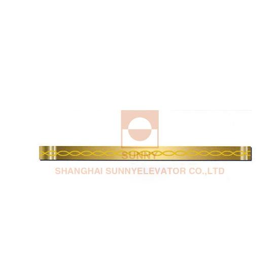 Stainless Steel Titaniumhandrail Passenger Elevator (SN-CH-713)