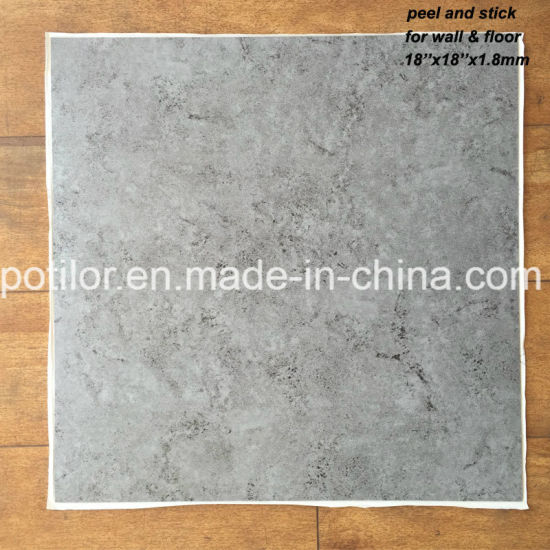 China Pvc Self Adhesive Flooring Tiles L And Stick Floor