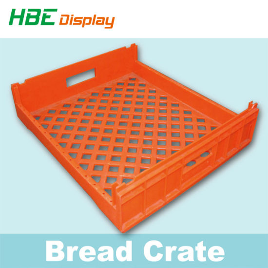 China Food Degree Bread Pallet Crate Plastic Bread Tray China