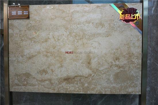China Polished Egypt Travertine Marble Stone Ceramic and Porcelain ...