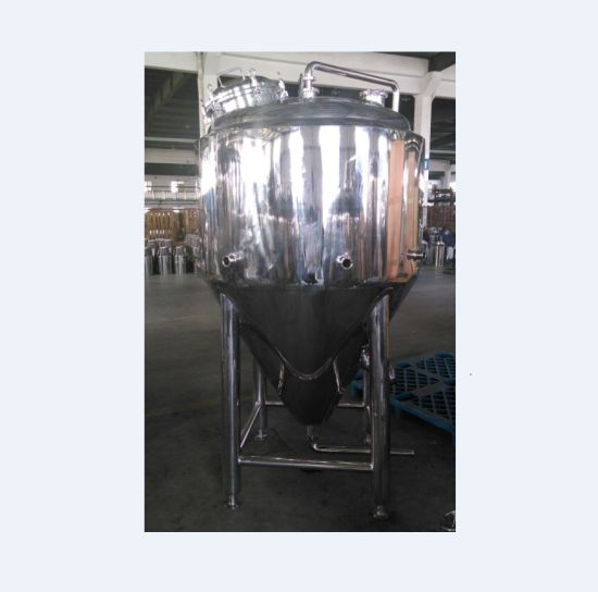 Stainless Steel Jacketed Conical Fermenter with Manway pictures & photos