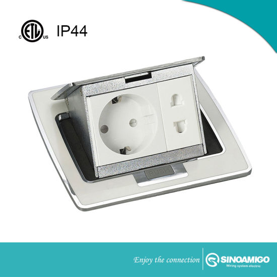 Good Quality Table Socket Outlet Boxes Floor Socket Boxes