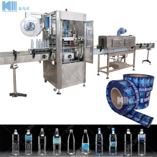 Automatic Mineral Water Bottle Sleeve Labeling Machine