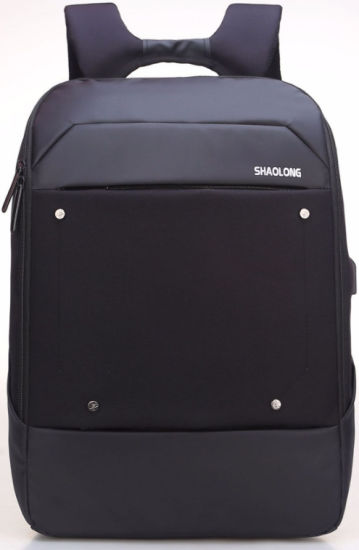 Fashion Three Colors Backpack High-End Business Laptopbag with USB Port