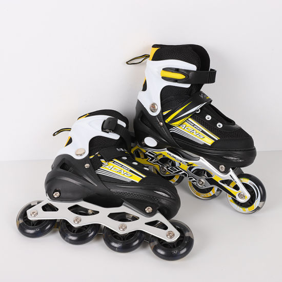 Wholesale Professional Inline Roller Skate Shoes for Kids pictures & photos