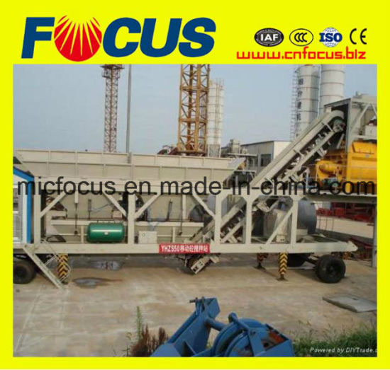 High Quality Ready Mixed Concrete Batching Station, Mobile Concrete Batching Plant pictures & photos