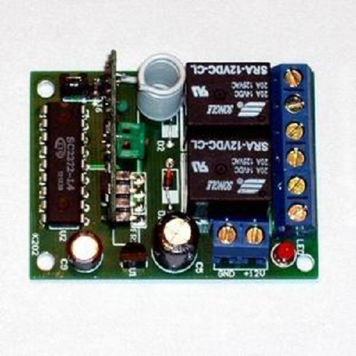 12V 2-Way Adjustable Wireless Remote Control Switch