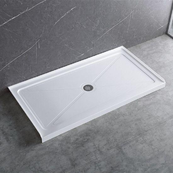 En Suite Bathroom Custom Shower Doors Shower Trays and Enclosures Acrylic Shower Panel 48*32 in