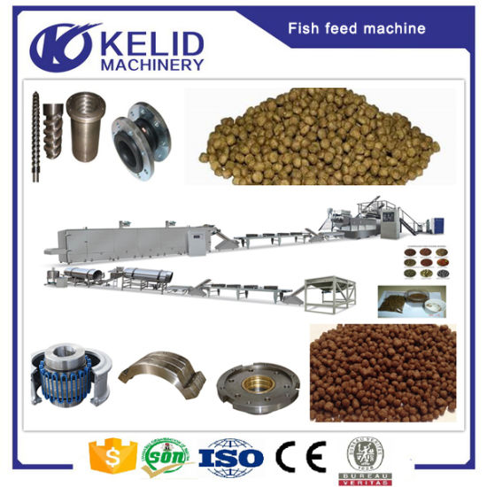 Ce Certificate Fish Feed Pellet Production Line pictures & photos