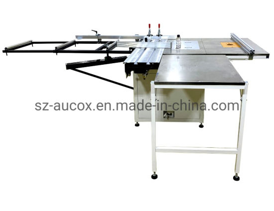 8 Inch Portable Dust-Free Wood Cutting Machine Small Desktop Woodworking Sliding Table Saw