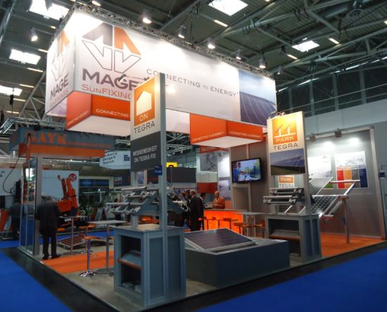 Aluminum Recycled Maxima Booth Exhibition Display Show Stand