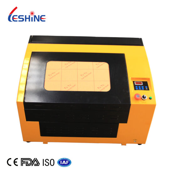4030 3050 Small Laser Engraving Machine 50W 60W 400*300mm CO2 Laser Engraver Cutter