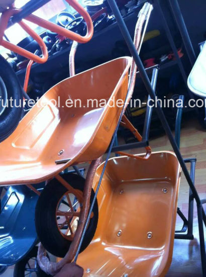 Hot Sale Durable Steel Construction Wheelbarrow, Construction, Garden Wheel Barrow pictures & photos