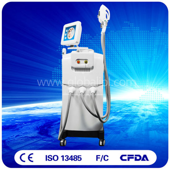 3 Handpieces Hair Removal Skin Rejuvenation Shr IPL pictures & photos