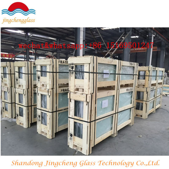 Clear/Milk/White/Color Laminated Glass/Tempered Laminated Glass/Tempered Low E Laminated Glass/Colored Bullet Proof Glass pictures & photos