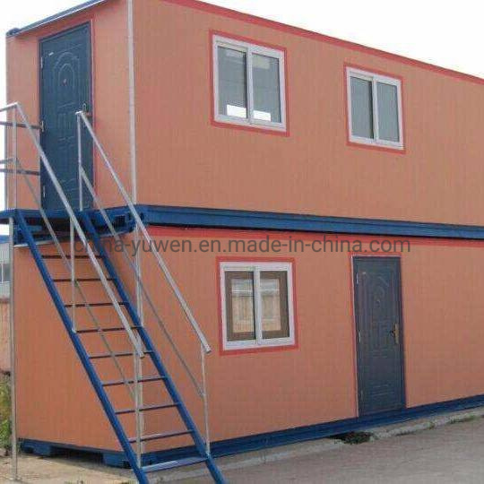 Steel Material Structure Container Prefab House for Storage Living Residence