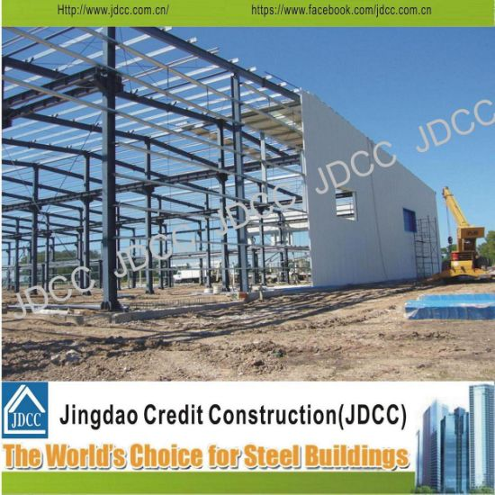 Quickly Build Steel Structure, Insulation, Durable Factory Building for Sale