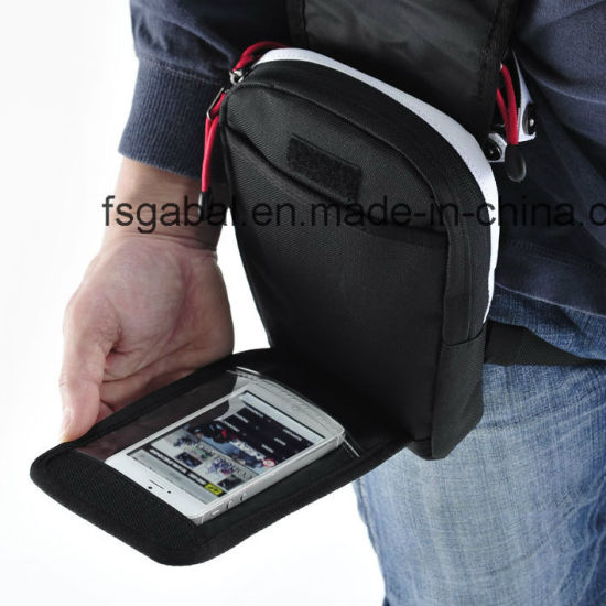 Japanese Motorcycle Cycling Waist Mini iPad Bag pictures & photos