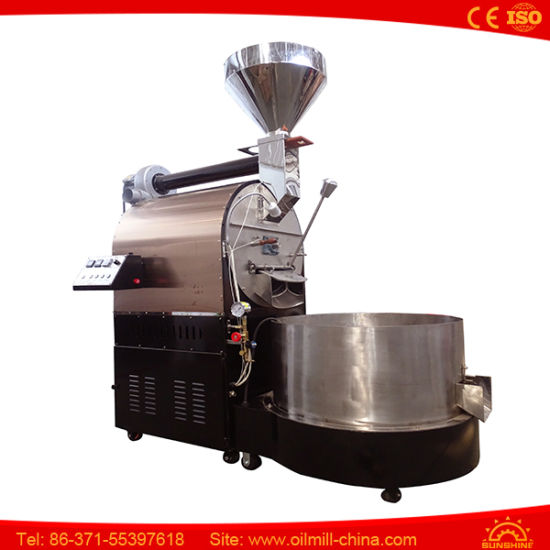 220V 50 or 60Hz Gas Heat 15kg Per Batch Roaster pictures & photos