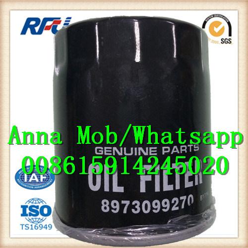 8973099270 Auto Parts Paper Core Oil Filter for Isuzu (8973099270)