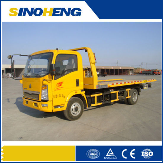 Sinotruk HOWO Heavy Duty Road Towing Wrecker Truck pictures & photos