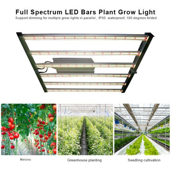 600W Folding Dimming Hydroponics Farmer Full Spectrum Bar LED Plant Lamp Grow Light