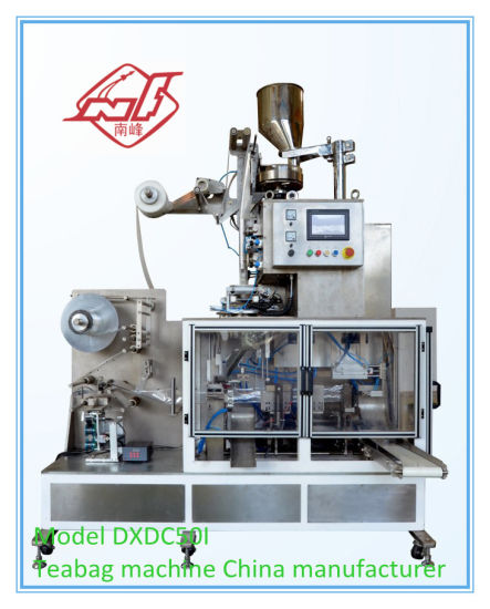 Pyramid Tea Bag with Envelope Packing Machine (DXDC50I) pictures & photos