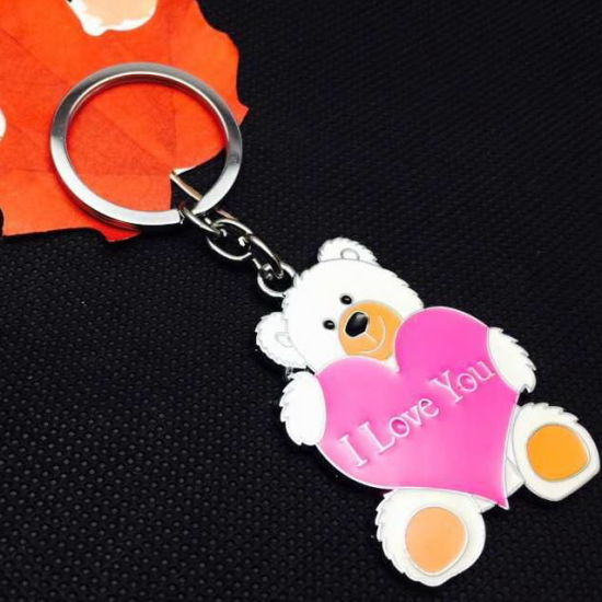Factory Custom Made Teddy Bear Key Chain pictures & photos