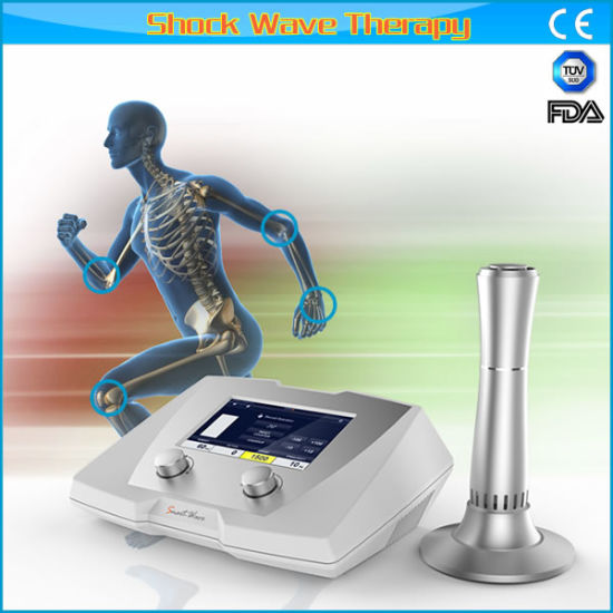 Professonal Physiotherapy Use Pain Relief Treatment Shock Wave System pictures & photos