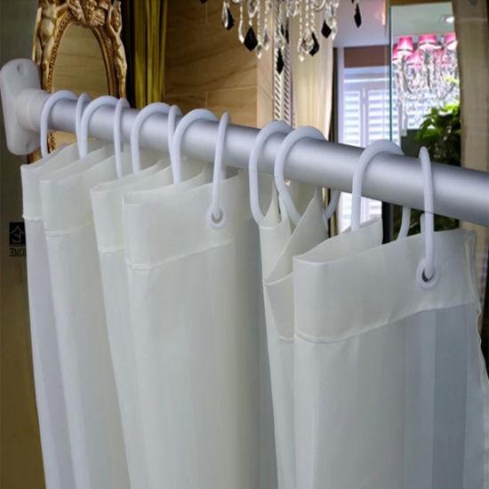 High Quality Shower Curtain For 5 Star Hotel Bathroom DPF2463