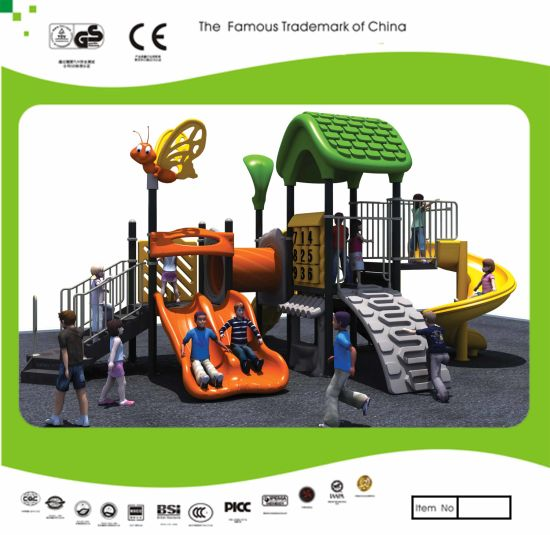 Kaiqi Medium Sized Colourful Children's Playground with Twin Slide, S Slide and More! (KQ20131A)
