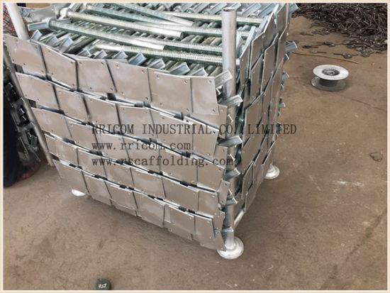 High Quality Hot DIP Galvanized Screw Jack pictures & photos