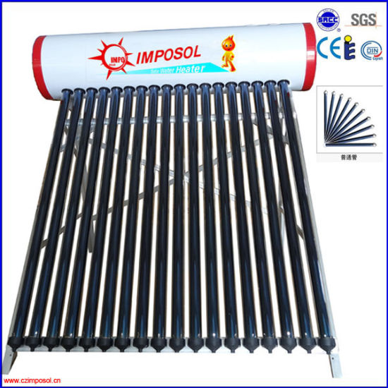 Solar Water Heater Thermosiphon Systems Non-Pressurized pictures & photos