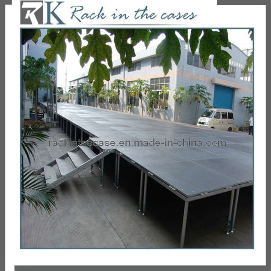 Portable Concert Stage with Adjustable Legs (RK-DC20111224-28) pictures & photos