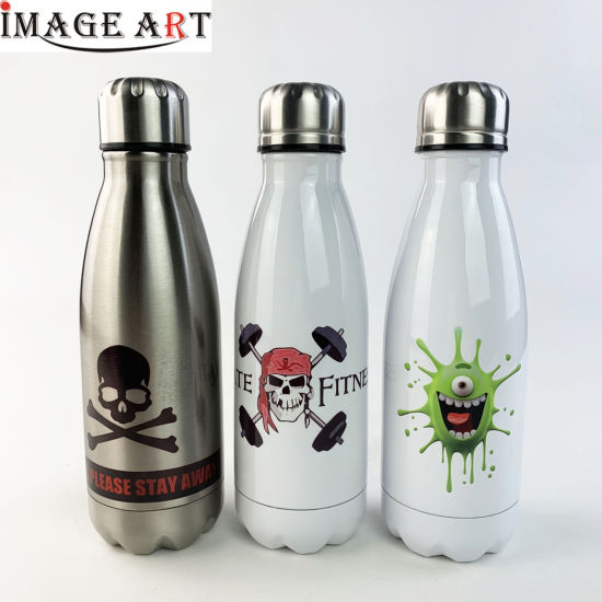 350ml Double Wall Thermos Vacuum Flask Stainless Steel Bottle for Sublimation Printing