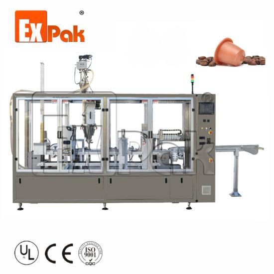 Coffee Capsule Filling Machine, Nespresso Coffee Capsule Filling Sealing Machine