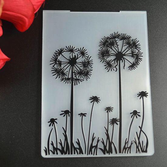 china dandelion photo album decor embossing template folder china