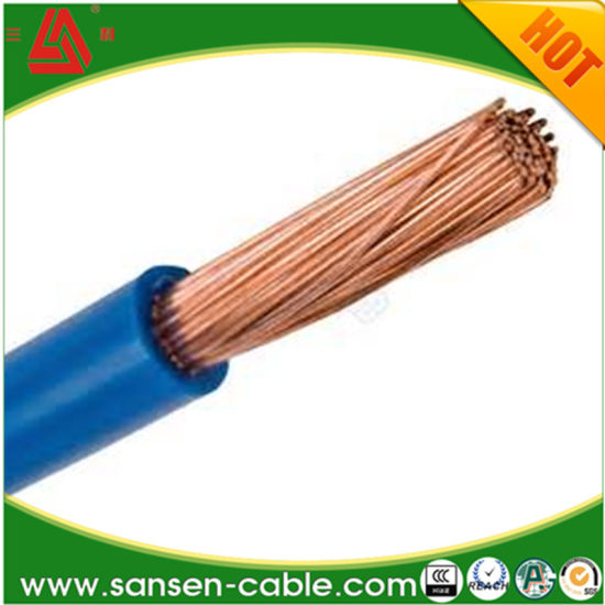 Copper Core PVC Insulated Joint Flexible Wire RV Electric Cable on