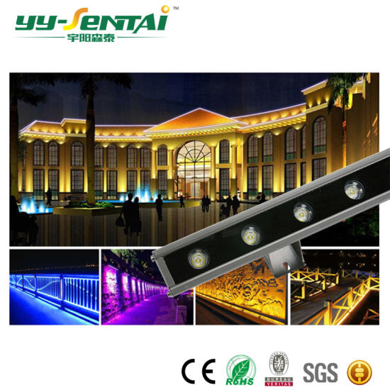 Popular 18W Outdoor Waterproof LED Wallwasher Light for Building Lighting pictures & photos