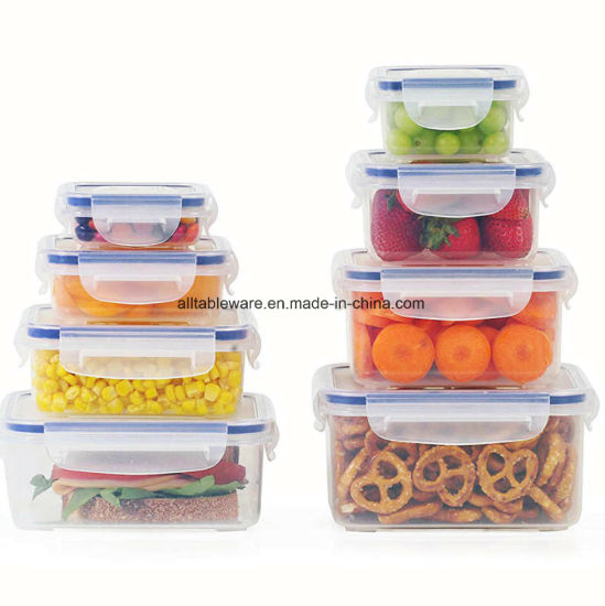 China BPA Free Airtight Plastic Storage Food Storage Container 900ml
