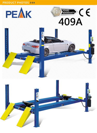 Alignment Four Post Lift Auto Repair Equipment and Tools (409A) pictures & photos