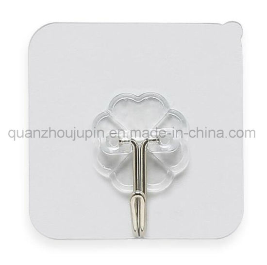 OEM Plastic Seamless Waterproof Wall Suction Cup Kitchen Bathroom Sucker Hook pictures & photos