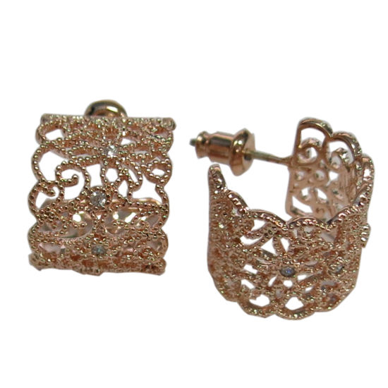 China Best Quality Fashion Jewelry 925 Sterling Silver Earrings E6998