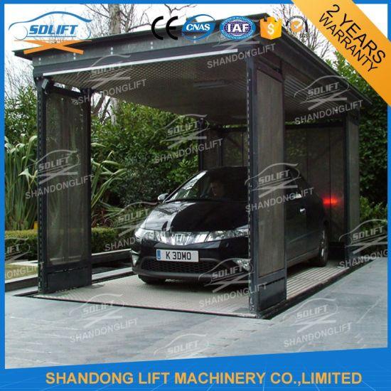 Underground Automotive Scissor Outdoor Car Lift for Sale