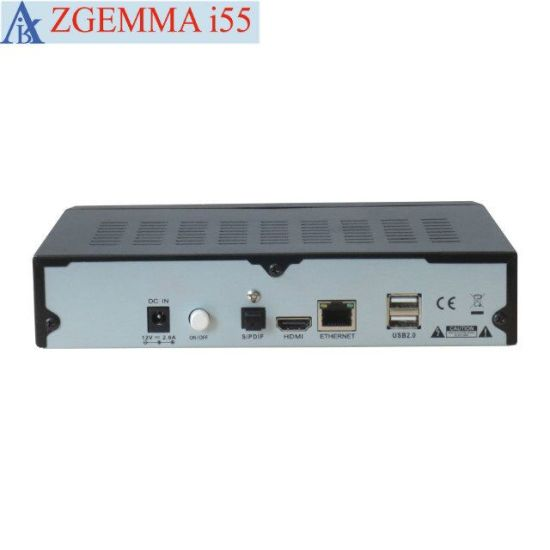 New High Efficient Zgemma I55 IPTV Streaming Box Linux OS WiFi Media Player Supporting Worldwide Full TV Channels pictures & photos