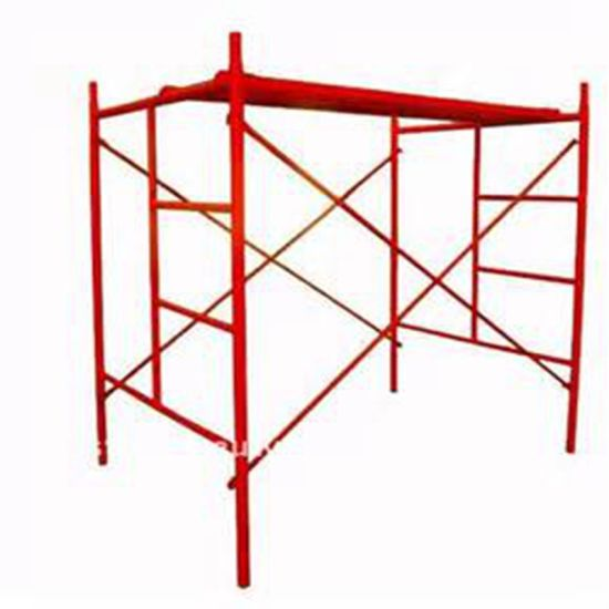 1219*1700mm H Frame Walk Through Frame Scaffolding for Construction Formwork System