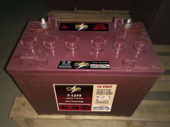 China 12v 150ah T1275 Trojan Deep Cycle Battery For Golf