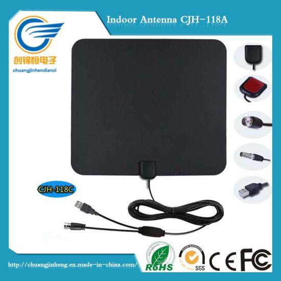 Indoor Type 50miles HD TV Antenna Digital Indoor TV Antenna