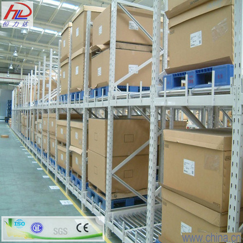 Heavy Duty Gravity Pallet Racking From Hld System pictures & photos